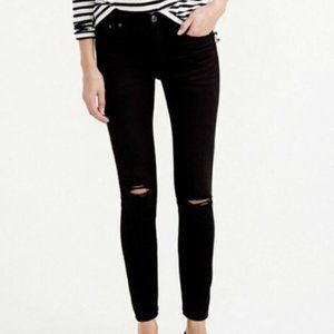 J. Crew | Toothpick Distressed Skinny Jeans~25